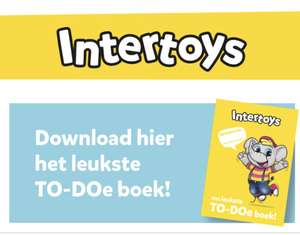 [Print & Play] Gratis TO-DOe Boek & Spelletjes @ Intertoys