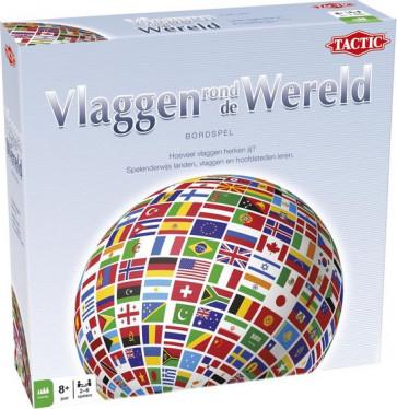 Tactic Vlaggen rond de Wereld - bordspel @ Dagknaller