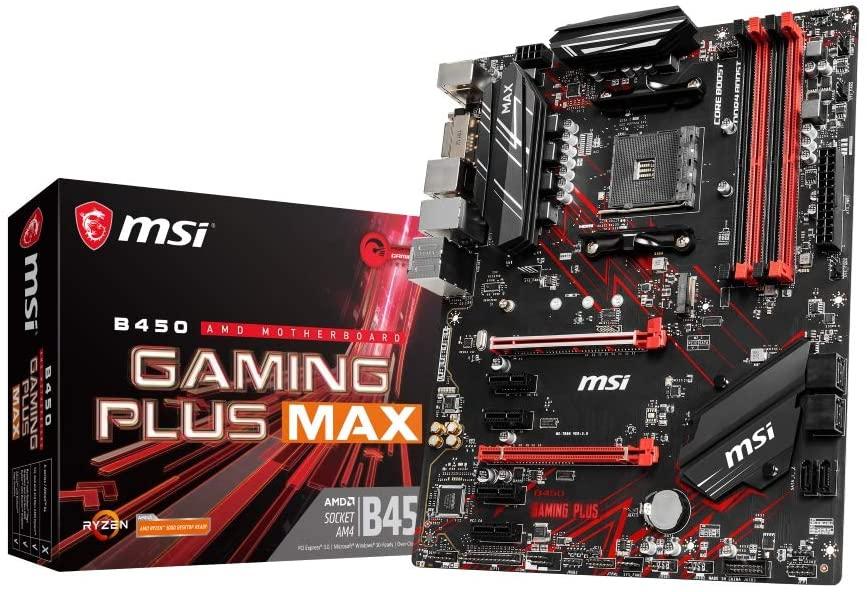 MSI B450 Gaming Plus Max moederbord @ amazon.nl
