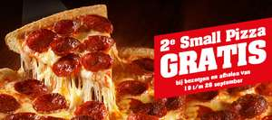 Tweede 25cm pizza gratis @ New York Pizza