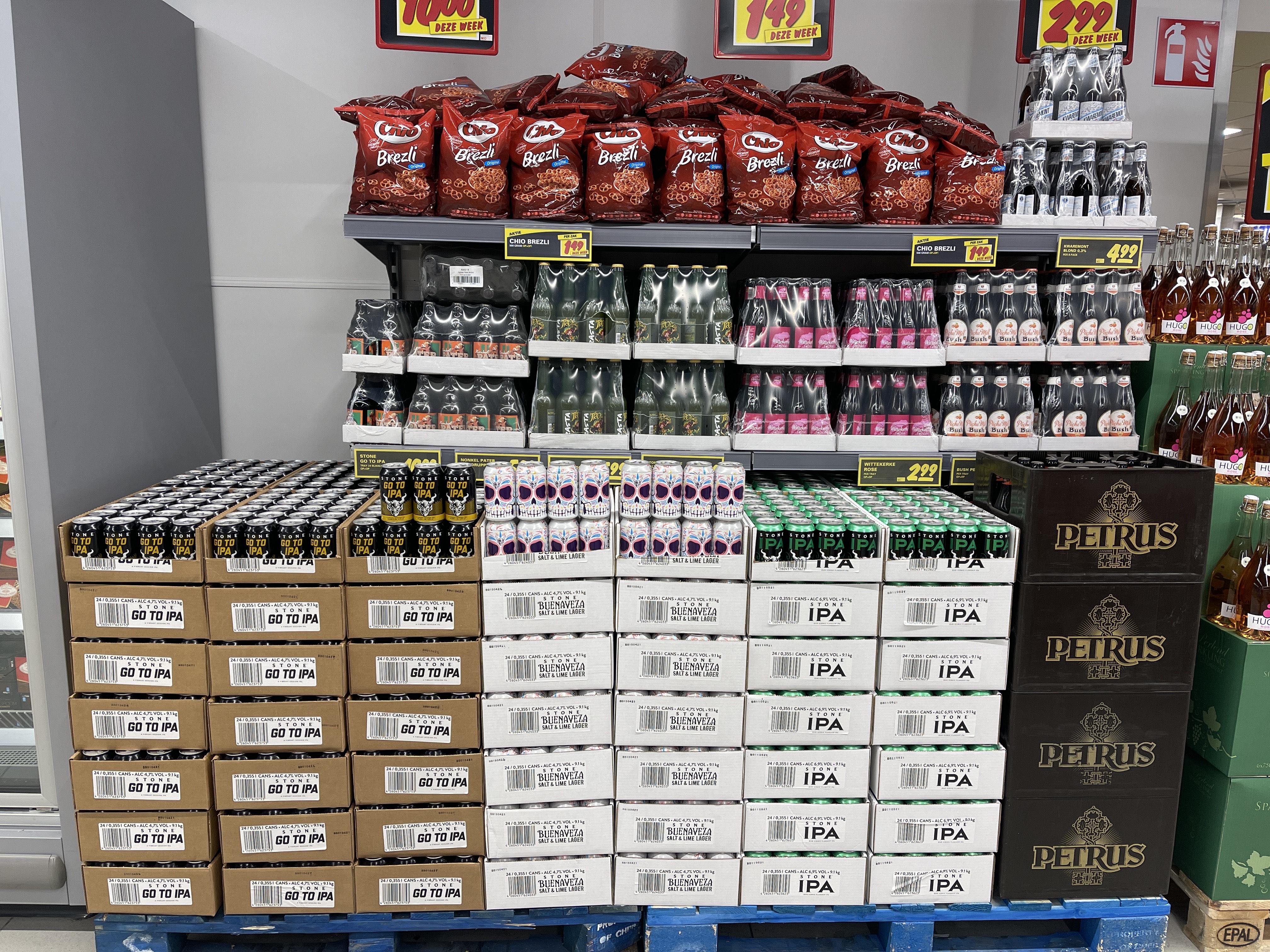 Diverse soorten (speciaal)bier @Nettorama