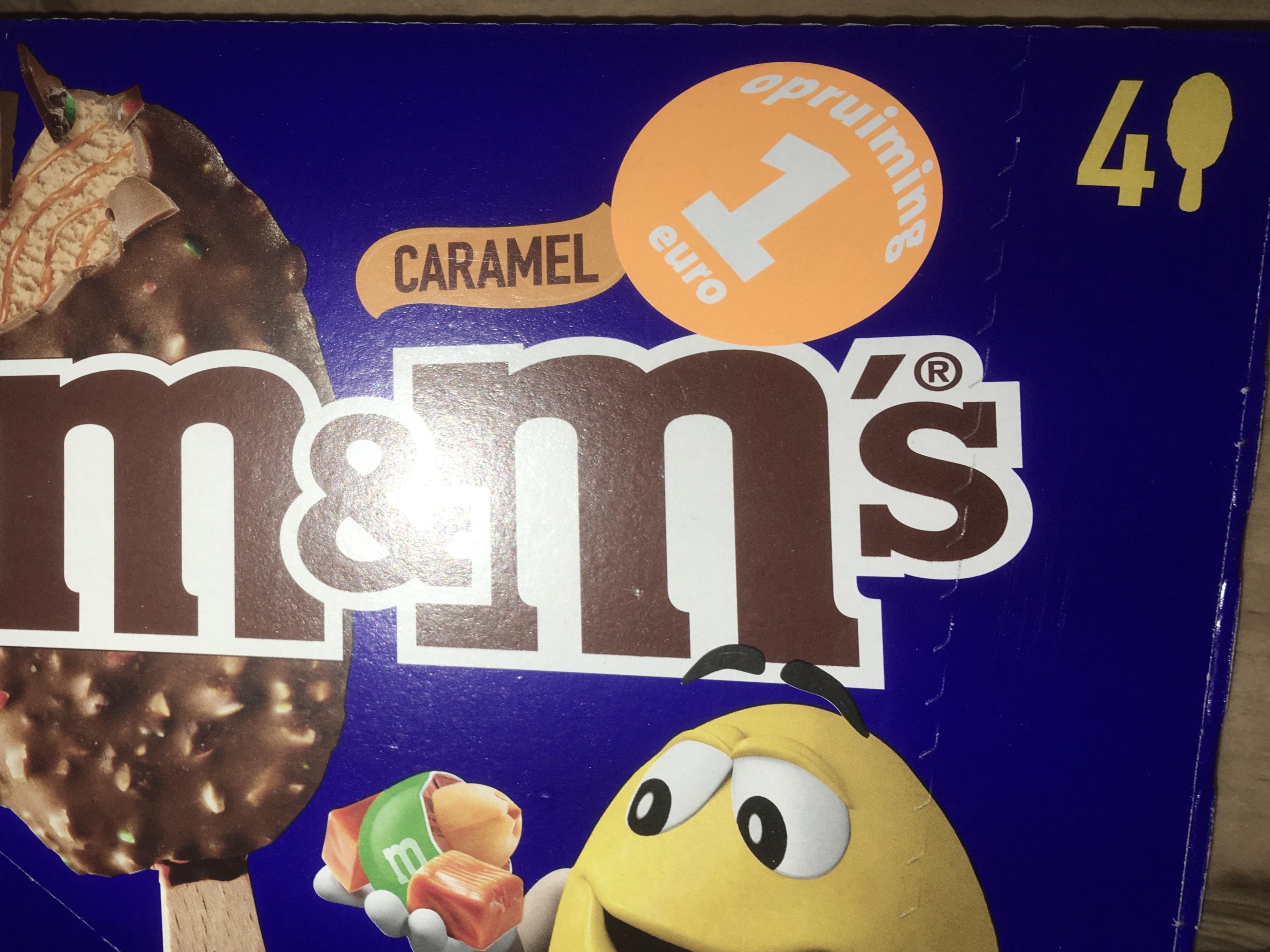 M&M's caramel ijs in de opruiming bij Jumbo (lokaal?)