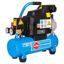 Airpress H 185-6 Compressor - 1,1 kW - 8 bar - 6 l - 185 l/min