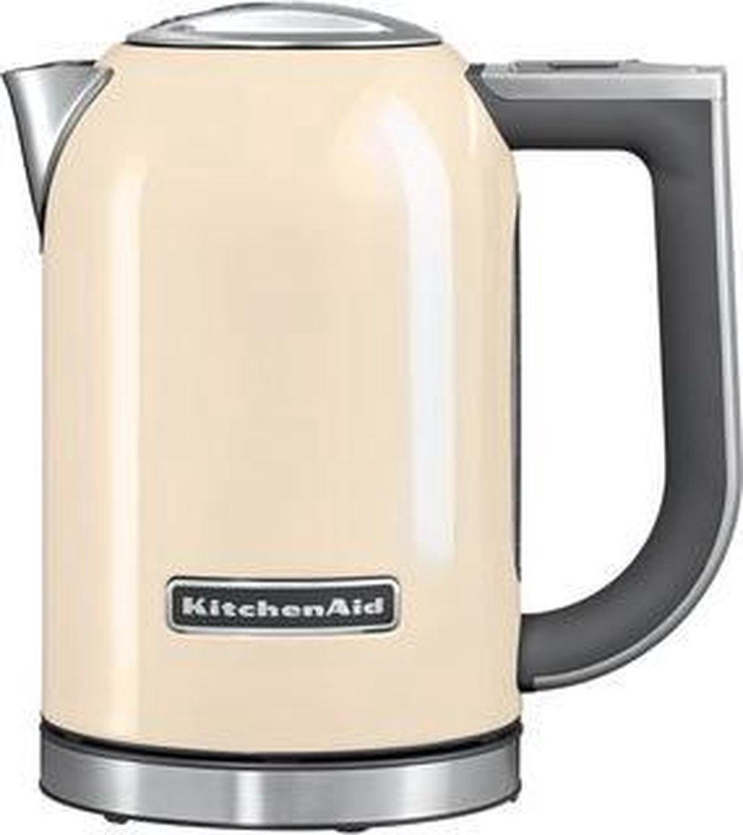 Kitchenaid 5KEK1722EAC - Waterkoker - 1.7 liter - 2400 W - crème
