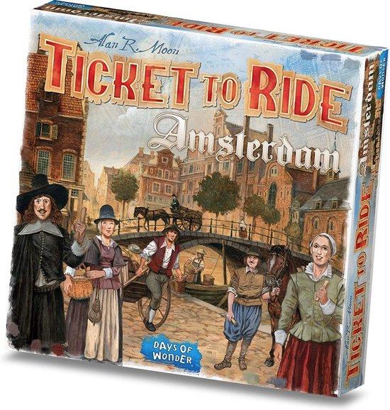 [SELECT-DEAL] Ticket to Ride Amsterdam - Bordspel @ Bol.com