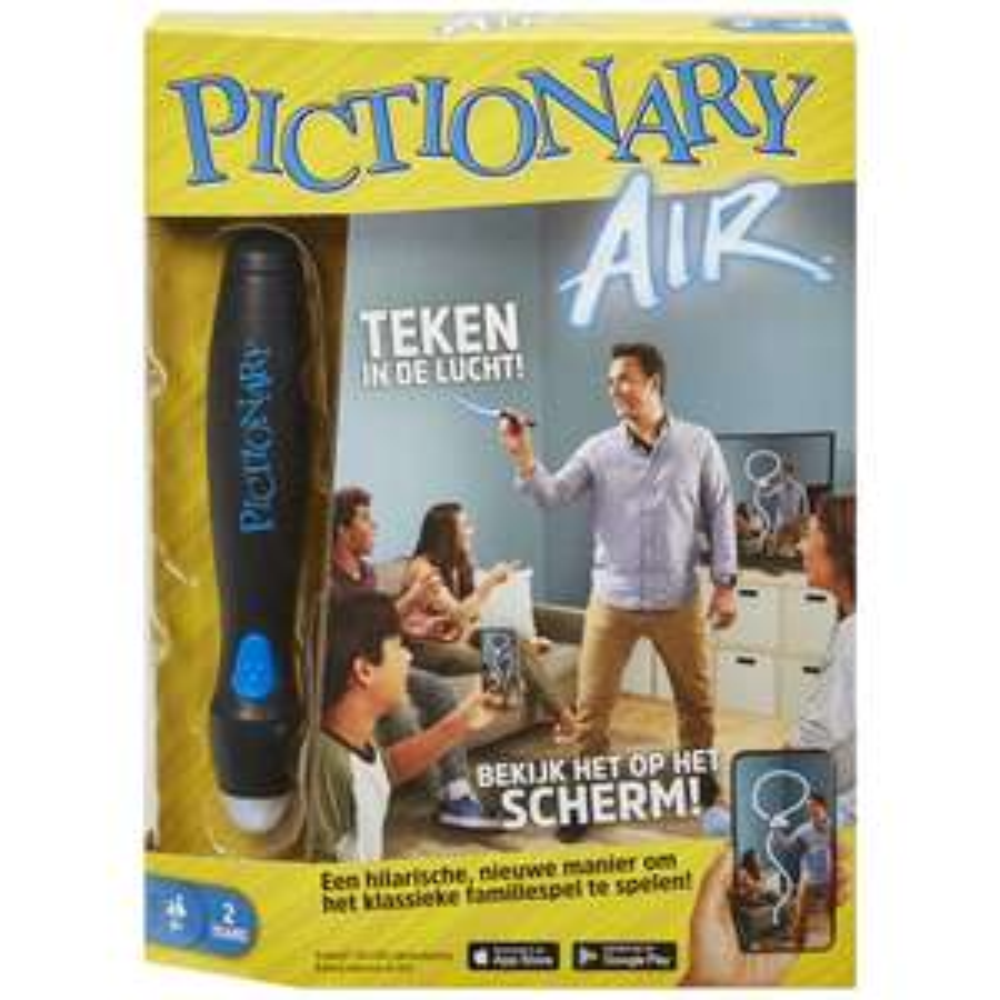 Mattel - Pictionary Air Spel met speciale Pen @ Kruidvat