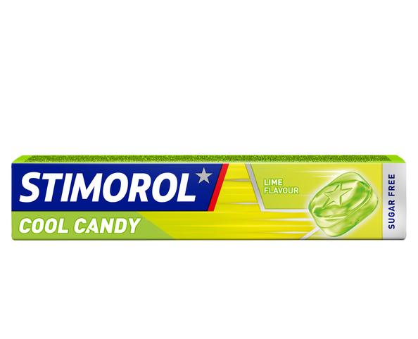 10 packs Stimorol Cool candy lime €1 @ Die Grenze / Datumvoordeelshop