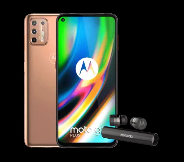Motorola Moto G9 Plus + VERVEBUDS @mediamarkt