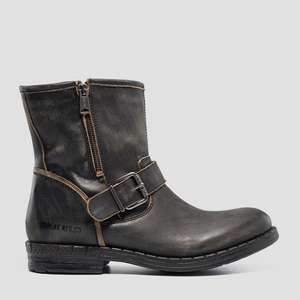 Men's BEDFORD leather mid boots