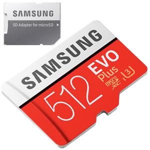 512 Gb Micro SD (ideaal voor bv. Nintendo Switch)