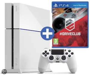 ps4 white + driveclub