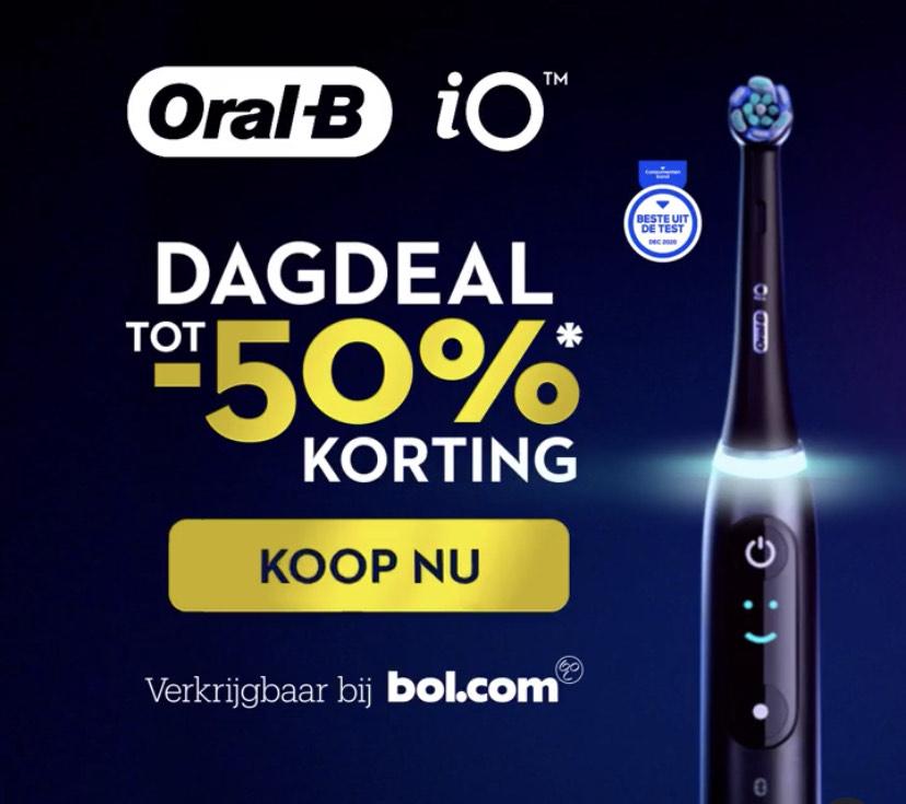 Oral-B iO - 9n - Elektrische Tandenborstel - Wit