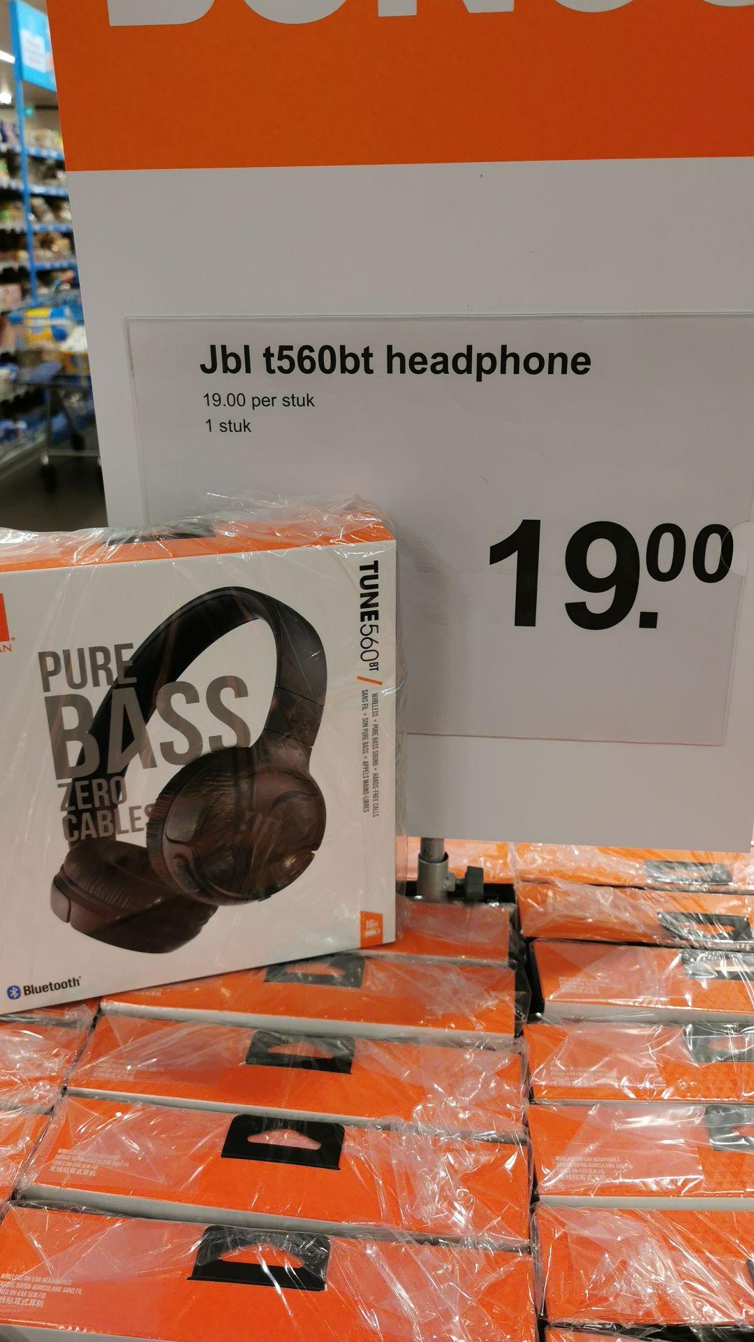 JBL TUNE 560BT Draadloze on-ear hoofdtelefoon @ Albert Heijn De laren