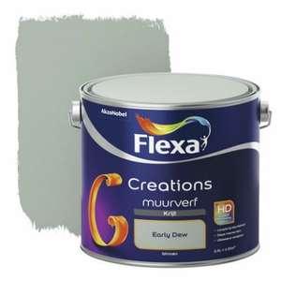 25% korting en gratis bezorgen op Flexa verf