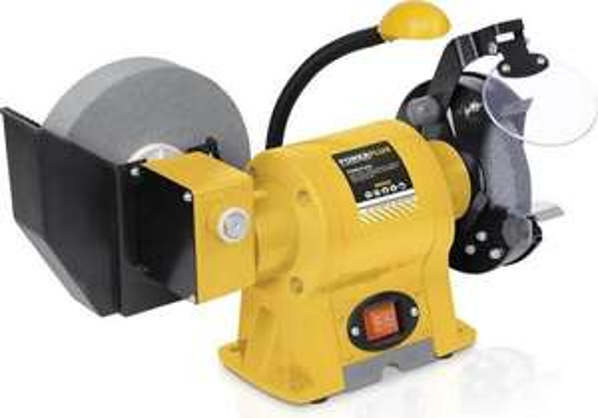 Powerplus POWX1250 Combi bankslijpmolen - Nat/droog - 350W
