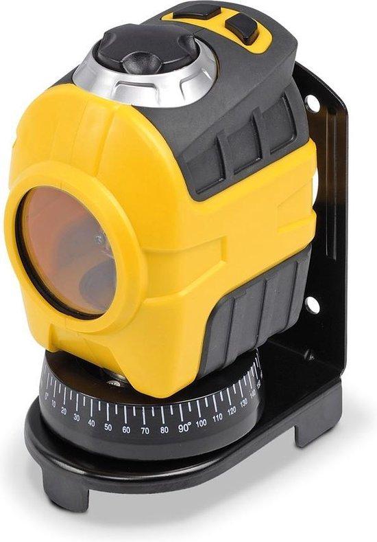 Powerplus POWX720 Laserwaterpas - zelfnivellerend - inclusief muurbevestiging
