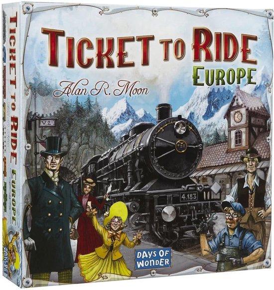 Ticket to Ride Europe - Bordspel - @ Bol.com [Select-Deal]