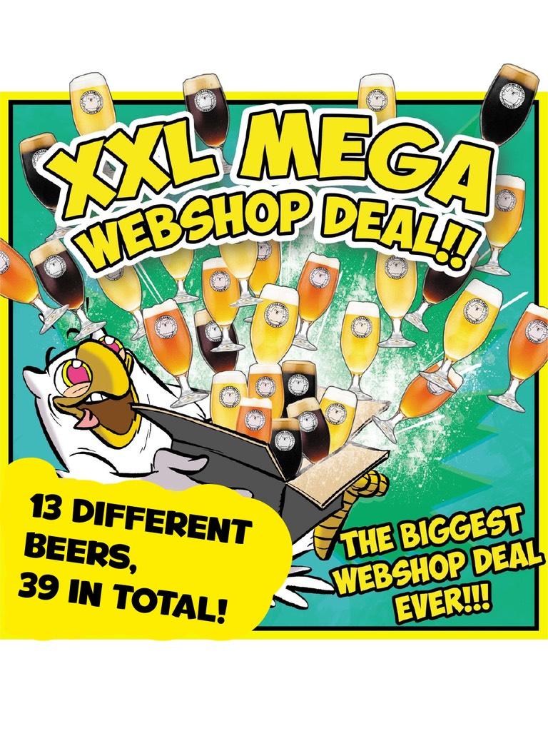 Uiltje Brewing XXL MEGA pack (39 bier)