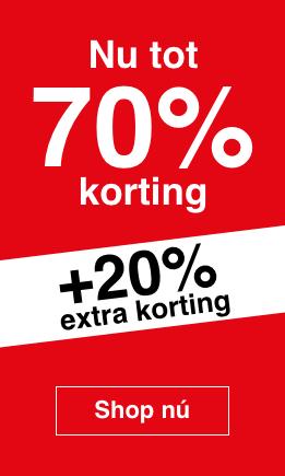 SALE tot 70% + 20% extra @ Open32