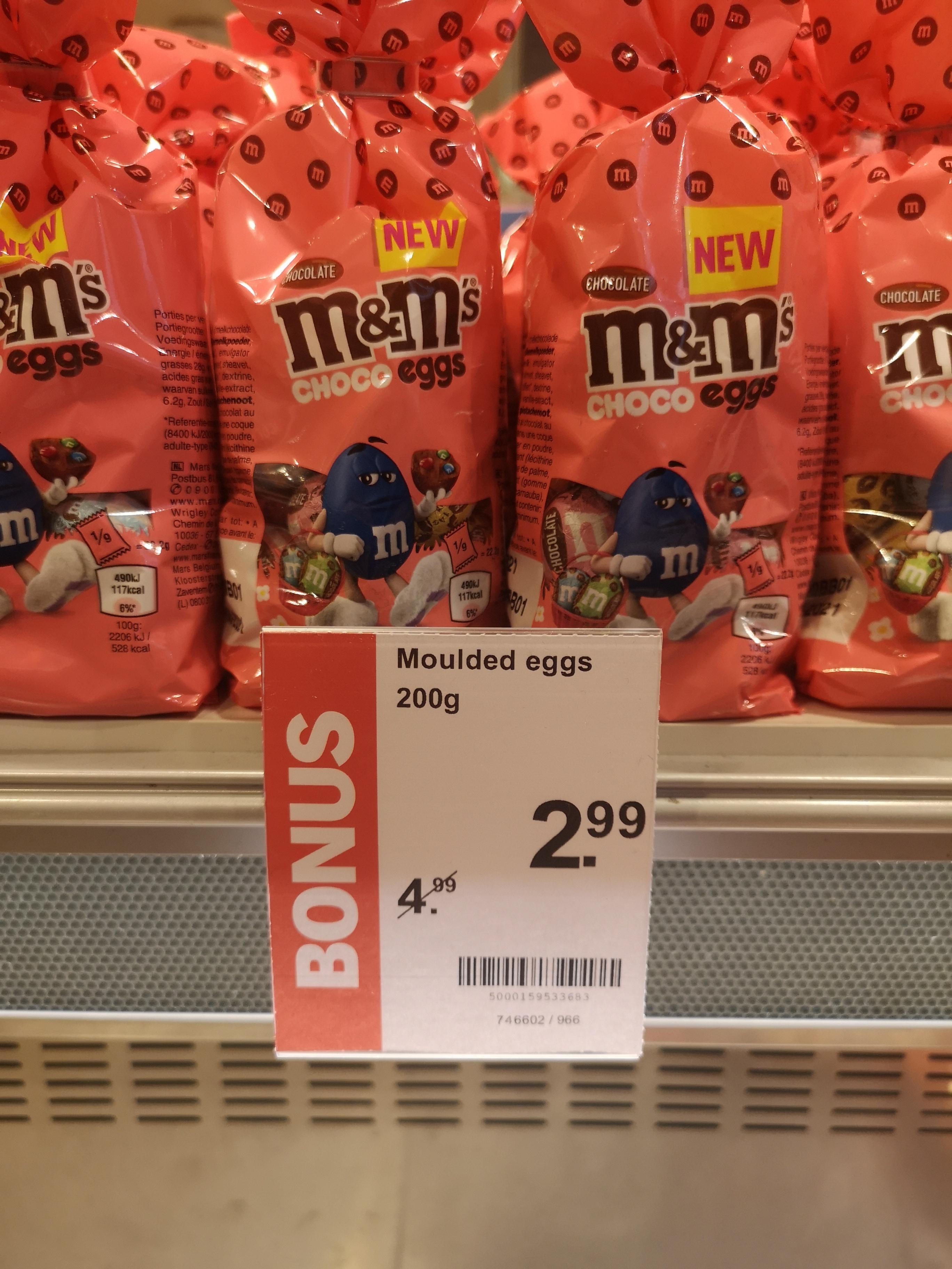 [lokaal?] M&M's choco eggs 40% korting @ Albert Heijn To Go