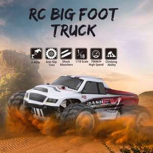 Wltoys A979-B RC auto 1/18 4WD tot 70km/h voor €50,14 (uit Duitsland) @ Tomtop