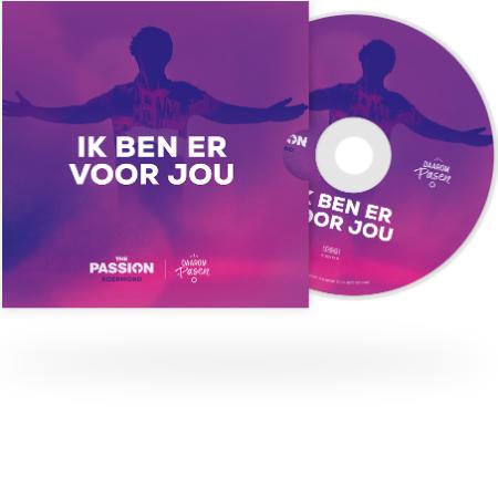 Gratis 'Ik ben er voor jou' CD (The Passion 2021)