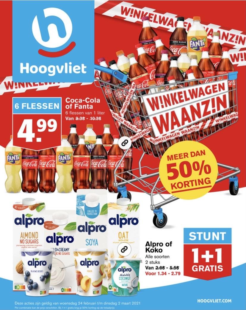 [Hoogvliet] 6x Coca Cola of Fanta €4,99