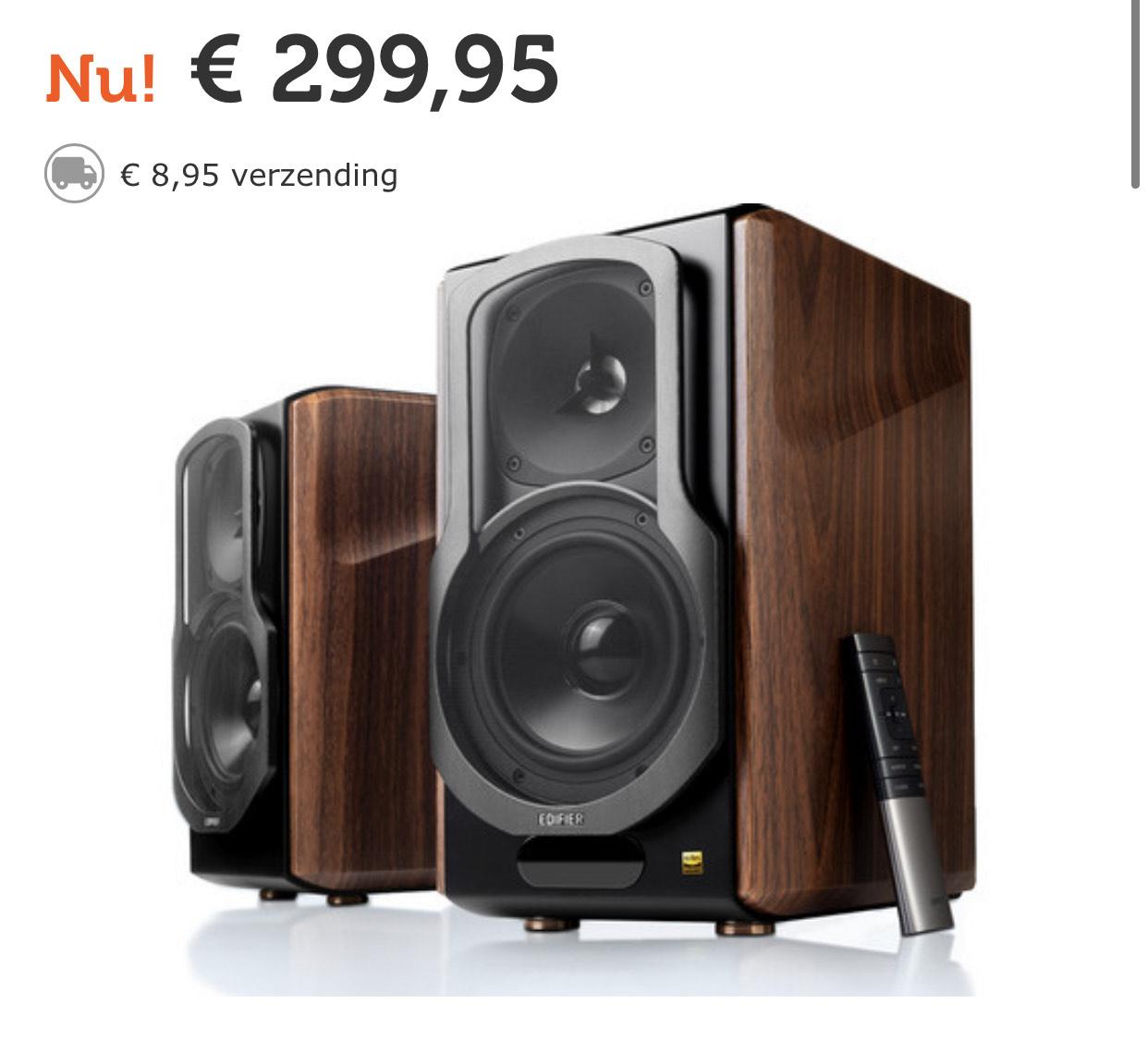 Edifier S2000MKIII Active 2.0 Speakers