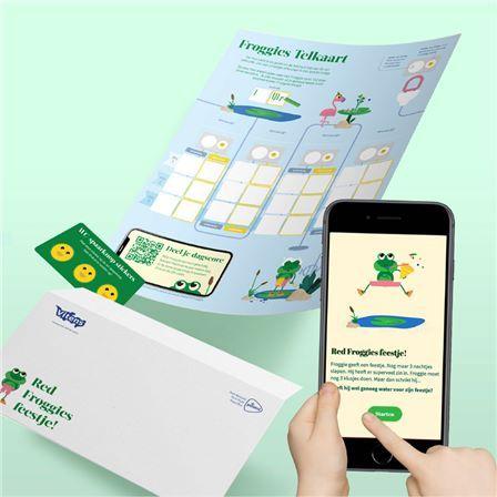Bestel gratis het Froggie Startpakket, Speel het spel online op een telefoon, tablet of laptop.