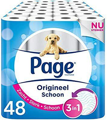 Page wc papier 48 rollen