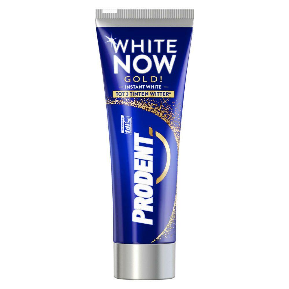50x Prodent Tandpasta White Now Gold 16ml