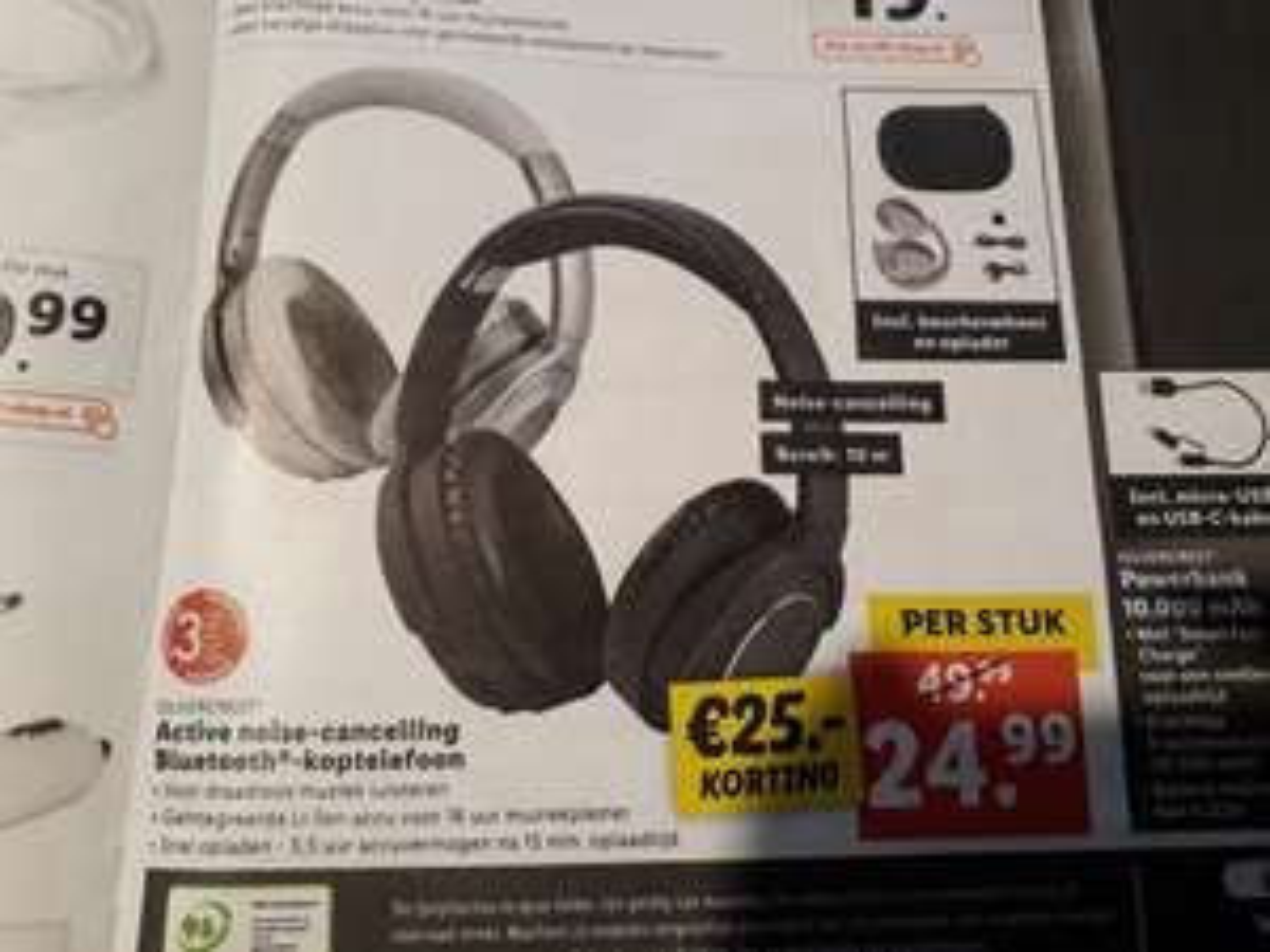 Silvercrest Noise Cancelling Bluetooth koptelefoon vanaf 27 februari bij Lidl