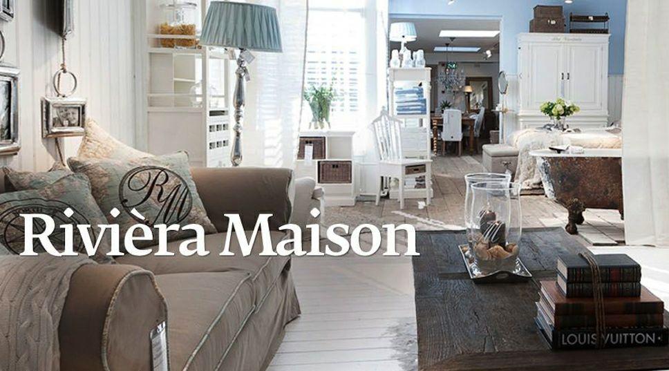 20% korting op Riviera Maison