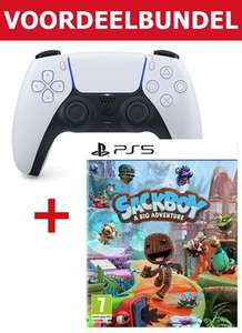 PS5 DualSense controller + Sackboy - A Big Adventure (click en collect)
