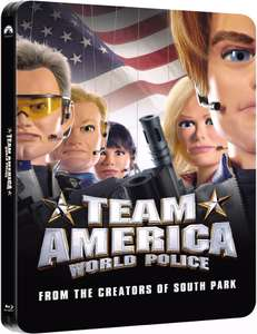 Team America: World Police -Limited Edition Steelbook Blu-ray voor €8,89 @ Zavvi