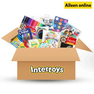 Mega knutselbox bij Intertoys