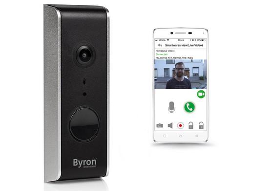 Byron by Smartwares Wifi Video Deurbel DIC-23112 @ iBOOD