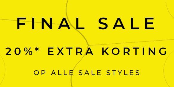 ALLE sale -50% + 20% EXTRA kassakorting + 10% extra @ Scotch & Soda