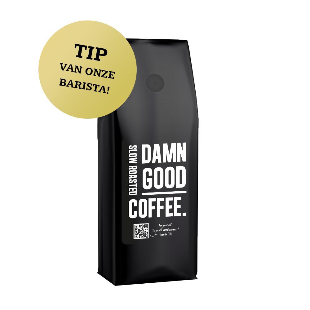 50% korting op DAMN GOOD COFFEE bij Heren van de Koffie