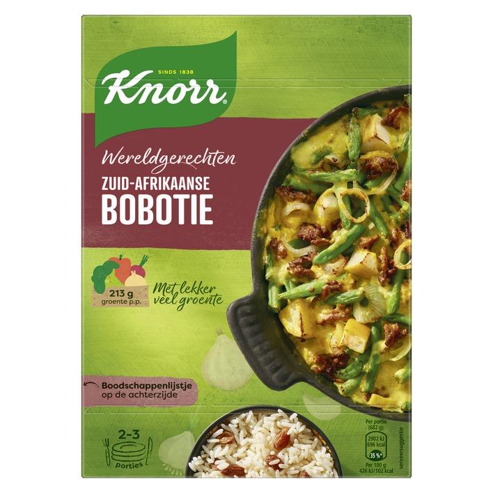 Knorr Wereldgerecht Zuid-Afrikaanse Bobotie €0,59 @ Die Grenze