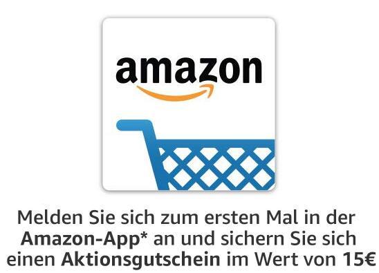 [Geselecteerde gebruikers] Amazon.de: €15 korting bij €30 besteding op je eerste bestelling via de app