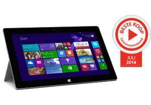 Microsoft Surface 2 tablet (32GB) voor €279 @ Saturn / Media Markt