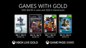 Games with Gold maart 2021