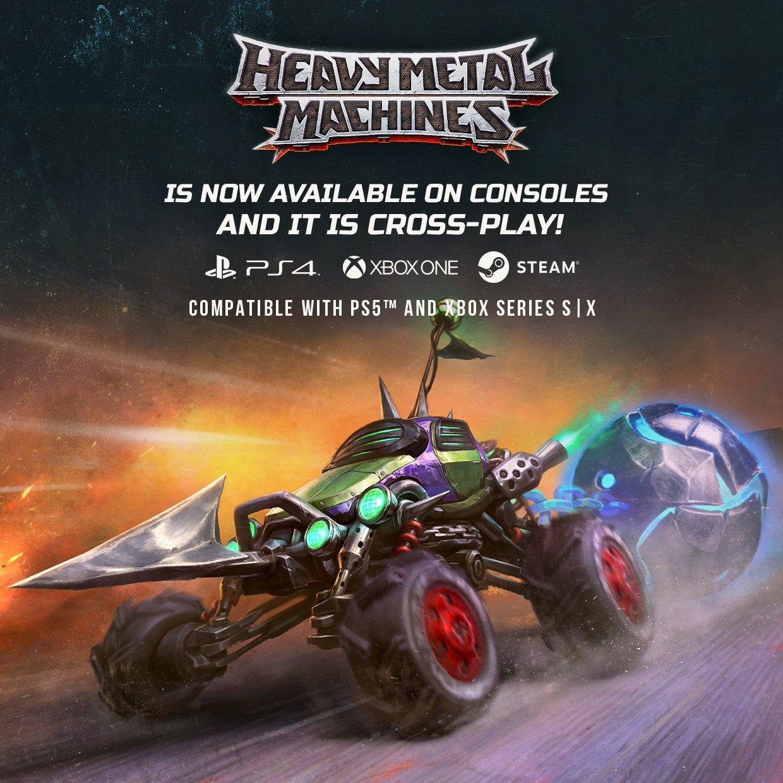 Cross-Play game Heavy Metal Machines vanaf vandaag gratis te spelen (PlayStation, Xbox, PC)