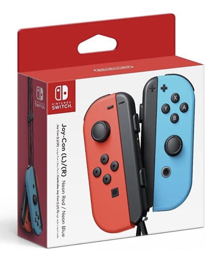 Nintendo Joy-Con rood/blauw