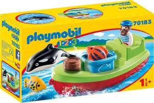PLAYMOBIL (70183) Vissersboot @ Amazon.nl