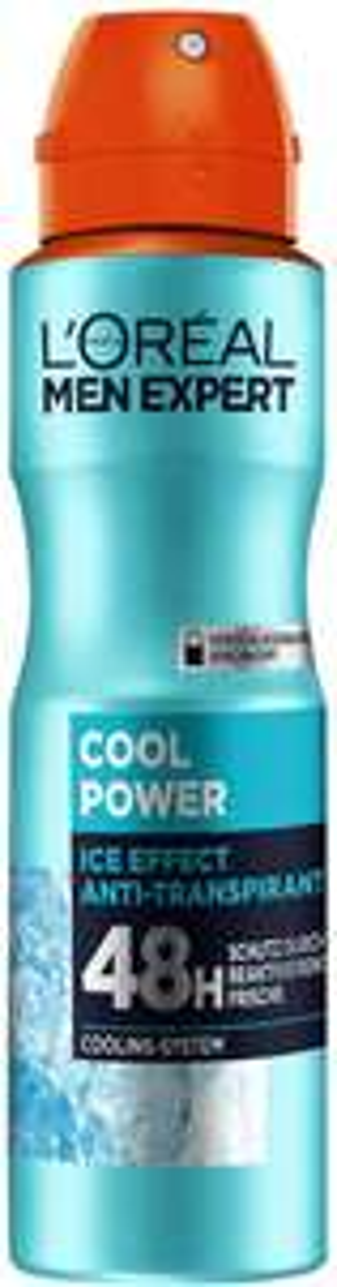 L'Oréal Men Expert Cool Power Deodorant Spray - 150 ml [Prime]