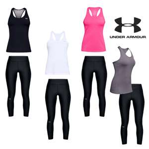 Under Armour Heat Gear 2-delige dames trainingsset [div kleuren + maten]