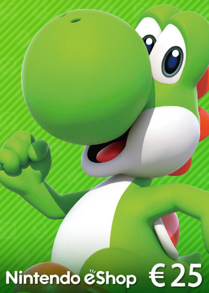 €25 Nintendo eShop Card (digitaal) voor €21,57 @ Eneba