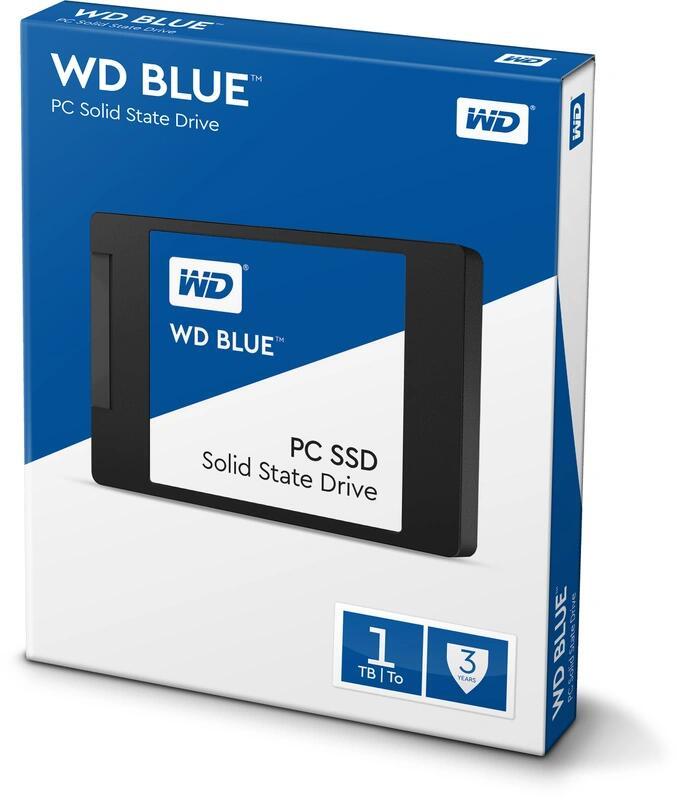 WD Blue 1 TB SSD SATA TLC